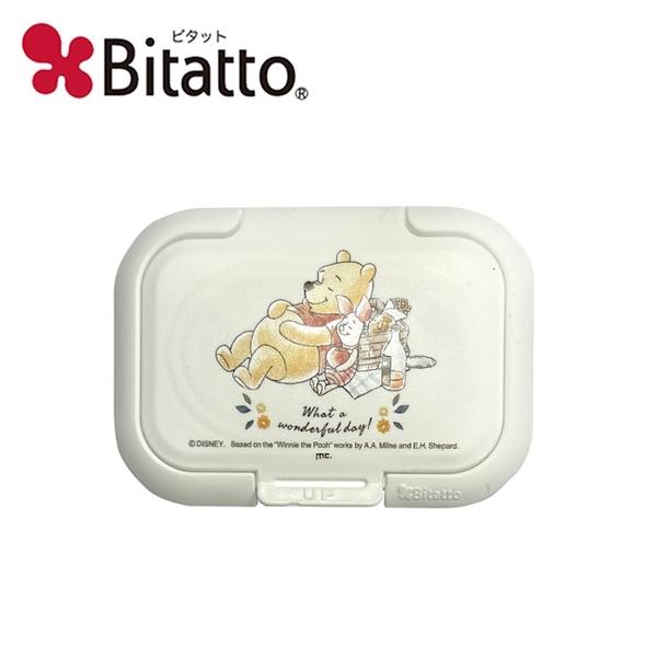 【日本正版】小熊維尼 野餐系列 濕紙巾蓋 日本製 濕紙巾盒蓋 重複黏 Winnie 維尼 Bitatto - 343570