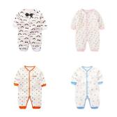 長袖連身衣 空氣嬰兒服 寶寶連身裝 滿版卡通 長袖兔裝 XIS2956 好娃娃