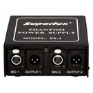 【缺貨】Superlux PS2A 幻象電源供應器 附電源線【電壓110~230 VAC自動切換】