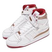 【海外限定】adidas 休閒鞋 Forum Mid OG 白 紅 金 魔鬼氈 中筒 男女鞋 愛迪達 象棋 【ACS】 H04236