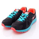 ARNOR時尚潮流鞋-輕量透氣慢跑鞋-WR43200-黑橘-女段-0