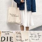 帆布袋 手提包 帆布包 手提袋 環保購物袋-單肩【SPWJ7401】 BOBI  05/11