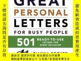 二手書博民逛書店Great罕見Personal Letters For Busy