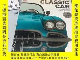 二手書博民逛書店經典汽車罕見Classic Car: The Definitive Visual HistoryY182979