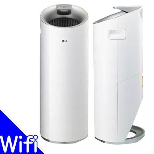 LG 圓柱-超淨化大白-WIFI空氣清淨機AS401WWJ1