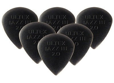 ☆ 唐尼樂器︵☆ Dunlop Ultex Jazz III 2.00mm 電吉他/電貝斯 Bass Pick 彈片(速彈小烏龜款)