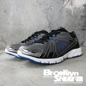 FILA 灰藍 網布 戶外 休閒 運動鞋 男 (布魯克林) 1J087Q057