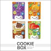 日本 Combi 康貝 teteo 無糖口嚼錠60粒 橘子 蘋果 巧克力牛奶 葡萄 *餅乾盒子*