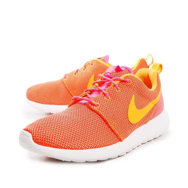 Nike WMNS Rosherun [511882-607] 女鞋 運動 休閒 潮流 橘 黃