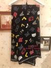 Yvonne MJA卡爾拉格菲爾德預購KARL LAGERFELD卡爾貓老佛爺正版 圍巾 披肩
