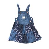 OSHKOSH 細肩帶牛仔吊帶裙 藍拼接 | 女寶寶 | 北投之家童裝【OS11025610】