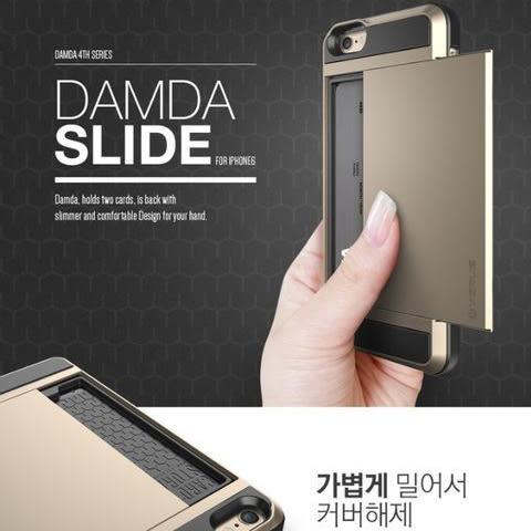 【SZ34】JJ iphone 6 plus 韓國Verus 插卡 卡夾設計 推拉 iphone 6 手機殼 iphone se 超薄防摔矽膠 保護套