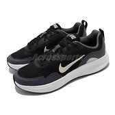 Nike 慢跑鞋 Wearallday GS 黑 米白 女鞋 大童鞋 休閒 運動鞋 【ACS】 CJ3816-011