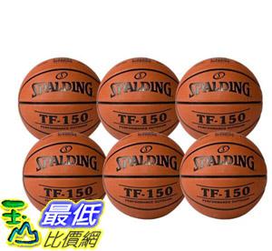 [COSCO代購] W123721 斯伯丁 TF-150 室外籃球 FIBA 認證(7號) 6入