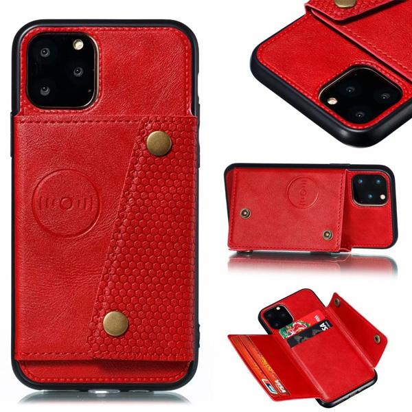 蘋果 iPhone11 iPhone11 Pro iPhone11 Pro Max 雙向開插卡殼 手機殼 全包邊 插卡 磁吸 支架 防摔 保護殼