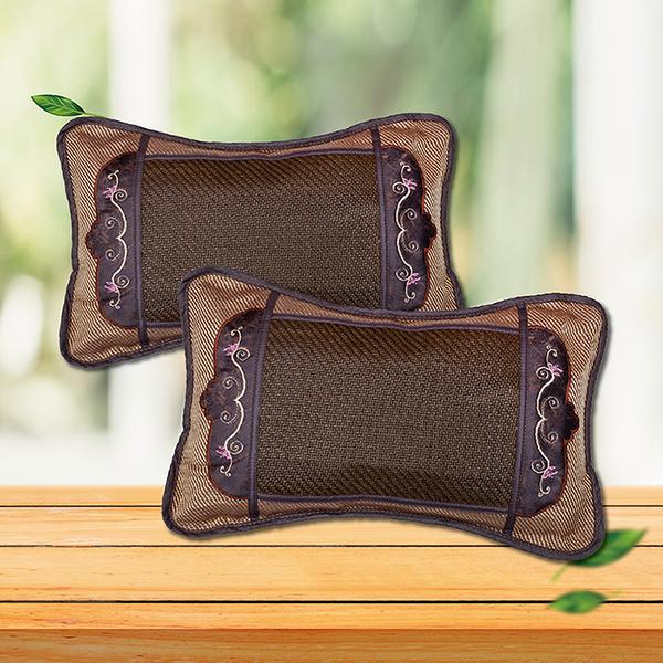 【Victoria】繡花茶葉枕(2顆)_TRP多利寶