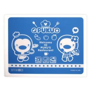 PUKU 藍色企鵝 矽膠餐墊 P14325