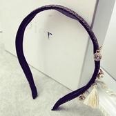 珍珠髮圈(任兩件)-復古流蘇民族風女髮箍3款73gi41【時尚巴黎】