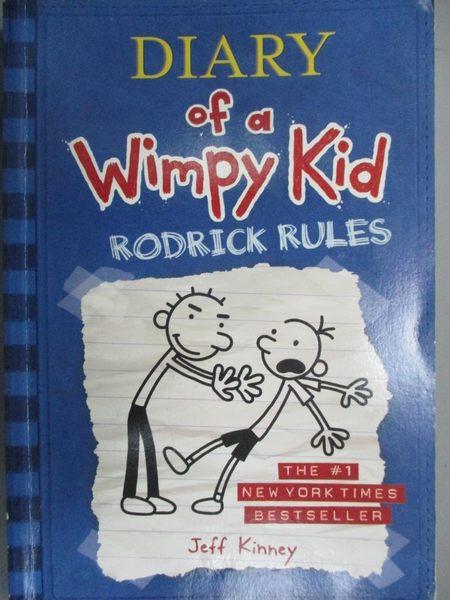 【書寶二手書T1/原文小說_NCN】Rodrick Rules (Diary of a Wimpy Kid, Book 2)_Jeff Kinney