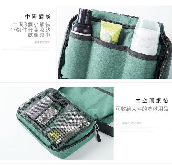 【YOUFONE】ETRAVEL多功能旅行可掛式防水折疊盥洗收納包兩件組(3色)