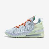 Nike Lebron Xviii Ep [CQ9284-401] 男鞋 籃球鞋 運動 氣墊 避震 包覆 詹姆斯 藍 綠