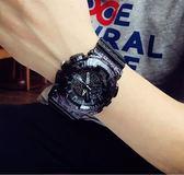 手錶手錶男非機械潮流ulzzang數字式運動防水男女學生韓版簡約電子錶 DF星河~星河~