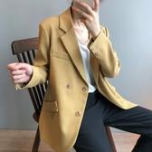 實拍韓版東大門秋季新款韓版chic兩粒扣質感寬松氣質小西裝外套女.N515.0720胖胖唯依二店