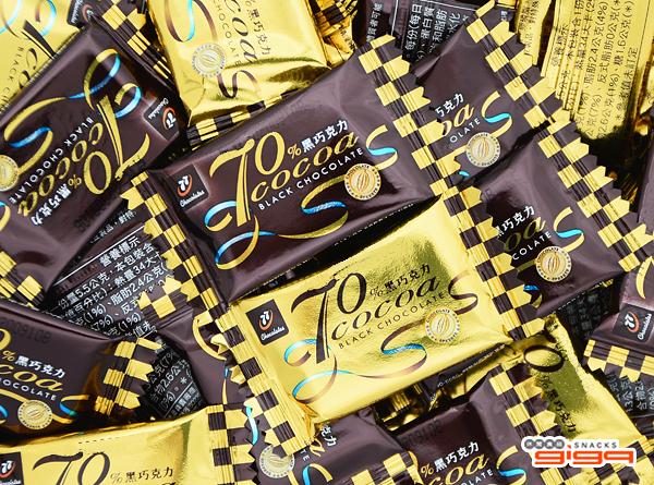 【吉嘉食品】77 70%黑巧克力(單包裝) 300公克 [#300]{09220}