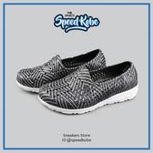 PONY 童鞋 Tropic 水鞋 拖鞋 海灘鞋 防水 洞洞鞋 懶人鞋 黑銀 62K1SA61BK【Speedkobe】