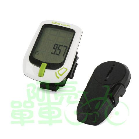 *阿亮單車*TOP ACTION 自行車10功能無線碼錶(T10W),無線讓愛車更簡潔,兩種顏色《B33-130》