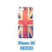 [機殼喵喵] Apple iPhone 5C i5C 手機殼 外殼 保護殼 復古 英國國旗