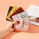 證件包 簡約卡包女小巧超薄迷你駕駛證件位卡夾韓國可愛小ck零錢包防消磁【快速出貨八折鉅惠】