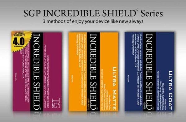 【東西商店】SGP Incredible Shield iPhone 4S / 4全機保護膜