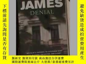 二手書博民逛書店英文原版罕見Denial by Peter JamesY1406