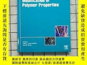 二手書博民逛書店Modification罕見of Polymer Properties 進口原版 Y268220 Carlos