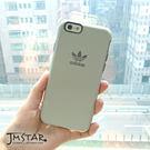 iPhone 6/6S 手機殼 adidas 愛迪達 雙層/防撞/耐摔 4.7吋-乳白灰