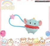 日本 Disney Store 迪士尼商店 限定 ufufy 小飛象 玩偶髮束