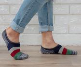 抗菌除臭 隱形氣墊襪 後跟防滑 吸濕排汗 除臭抗菌隱形襪-薄底襪子 紅色【W087-04】Nacaco