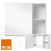特力屋 Smart PVC防水收納鏡箱 60x48cm