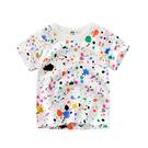 夏季男女童短袖T-Shirt 短袖圓領上衣 兒童短T恤 韓版百搭上衣 88472