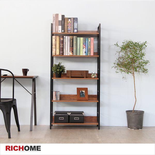 【RICHOME】SH518《MIRO傑菲五層架》 置物架 收納架 餐具架 櫥櫃 層架 廚房架 四層架 架子 收納架