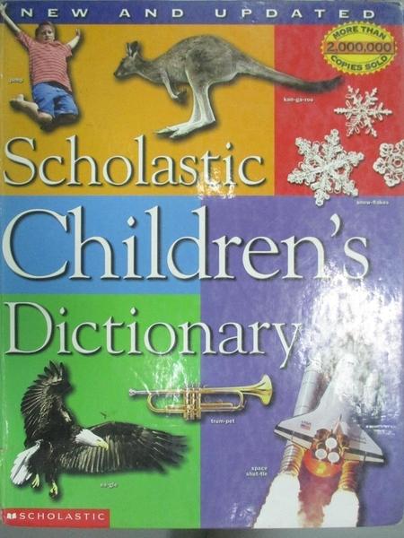 【書寶二手書T4/字典_PJM】Scholastic Children s Dictionary_Scholastic