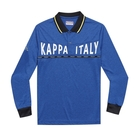 KAPPA義大利型男吸濕排汗速乾 POLO 長袖衫 丈青 351382WB29