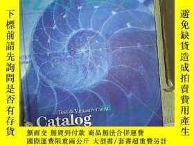二手書博民逛書店Test罕見& Measurement Catalog 1997