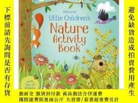 二手書博民逛書店Little罕見Children's Nature Activity Book-兒童自然活動書Y46