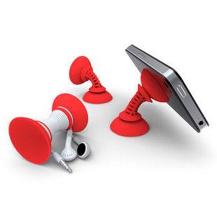 【世明國際】萬能手機支架 iphone 三星 手機 雙面吸盤 強力吸盤 多用繞線器