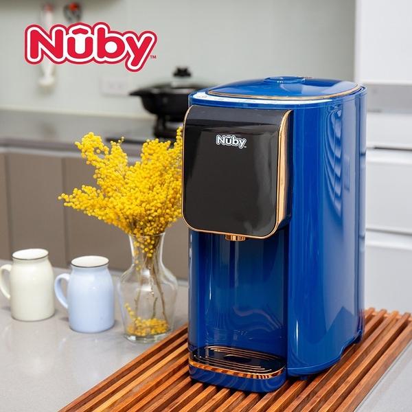 【愛吾兒】美國Nuby 智能七段定溫調乳器-海軍藍買就送Nuby EDI 超大超厚超純水柔濕巾