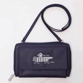 熱銷側背包日本雜志款可愛貓咪多功能黑色側背包多用途小物手機收納斜背包女