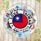 【冰箱貼】台灣郵戳  #  白板貼 冰箱貼 OA屏風貼 置物櫃貼 5.8cm x 5.8cm
