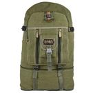 牛仔包 超大容量旅行背包男女戶外登山休閒行李包80L牛仔帆布後背包 裝飾界